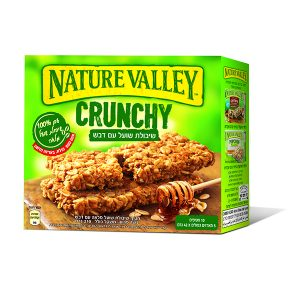 Nature Valley - Crunchy - שיבולת שועל עם דבש