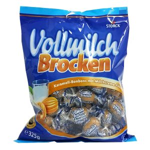 Vollmilch Brocken - Caramel Toffees filled with Milk Cream