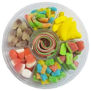 Gummy Mix Plate - Sugar Coated