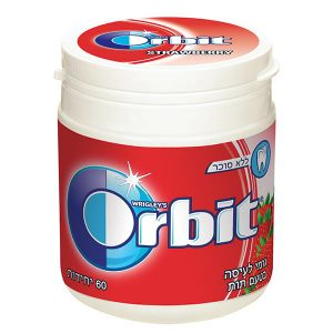 Orbit Chewing Gum Bottle - Strawberry