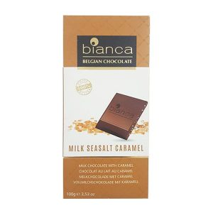 Bianca - Milk Chocoalte with Sea Salt Caramel