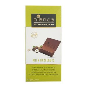 Bianca - Milk Chocoalte with Hazelnuts