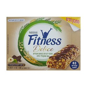 Fitness Delice - Energy Bar - Hazelnuts with Milk Chocolate