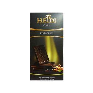 טבלת שוקולד - שוקולד מריר עם פיסטוקים