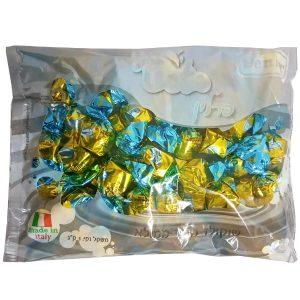 פרלינים עטופים - מריר - צהוב וכחול