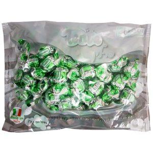 פרלינים עטופים - מריר ממלוא קרם אגוזי לוז - ירוק