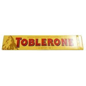 Toblerone - Milk with Honey & Almond Nougat 2 for 15