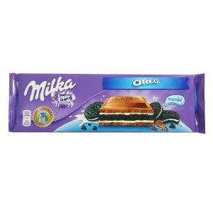 Milka - Milk Chocolate with Milk Cream and Oreo