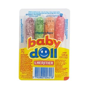 Baby Doll - Fruit Flavored Lollipops