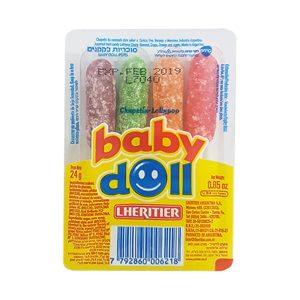 Baby Doll - סוכריות על מקל בטעם פירות