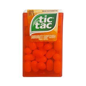 טיק טק - תפוז 4 ב-10