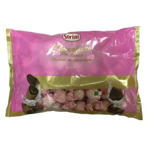 Wrapped Pralines - Milk filled with hazelnut cream and cereal - Pink