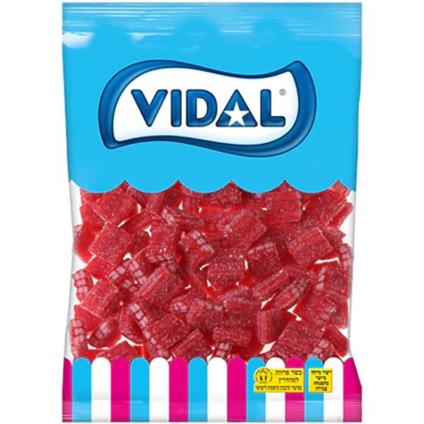Gummies - Sour Strawberry Cube Gummy