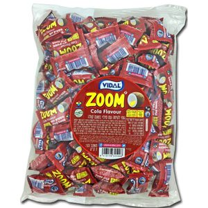 ZOOM Chewing Gum - Coka Cola