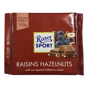 Ritter Sport - Raisins Hazelnuts