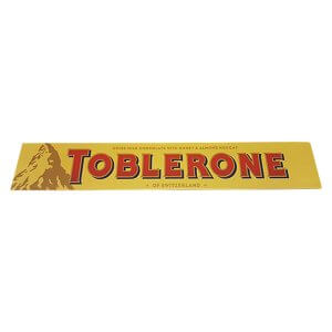 Toblerone - Milk with Honey & Almond Nougat XL