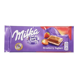 Milka - Strawberry Yoghurt