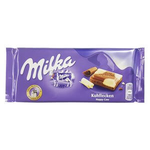 Milka - Milk chocolate with white chocolate