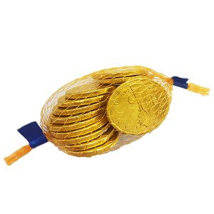 Chocolate Coins - Canadian Dollar - Gold