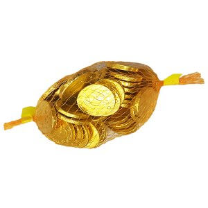 Chocolate Coins - Gold