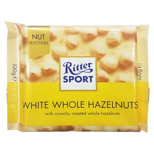 Ritter Sport - White Whole Hazelnuts