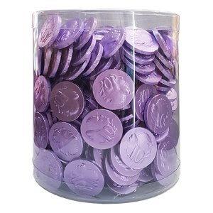 Chocolate Coins - Purple