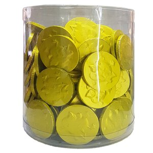 Chocolate Coins - Yellow Gold