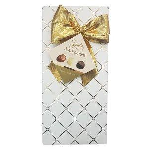 פרליני שוקולד בלגי - לבן וזהב