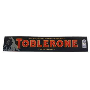 Toblerone - Dark with Honey & Almond Nougat