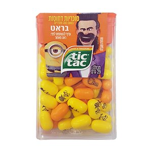 Tic Tac - Minions - Banana and Mandarin