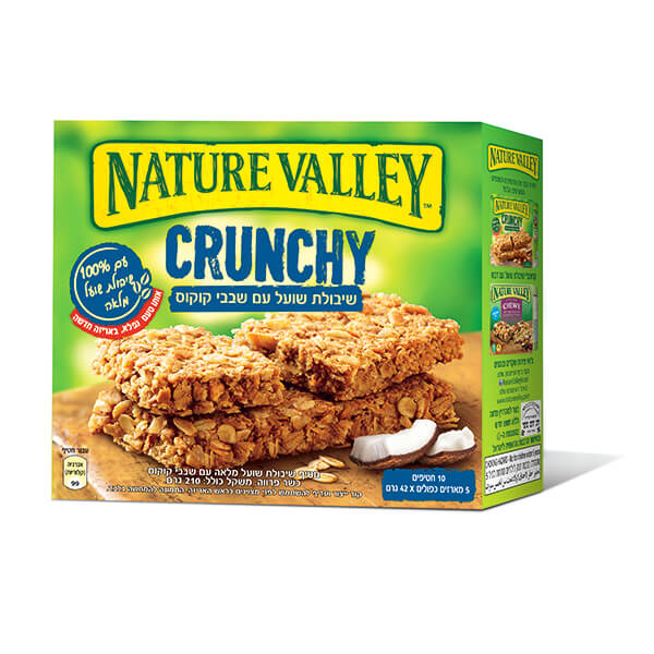 Nature Valley - Crunchy - שבבי קוקוס