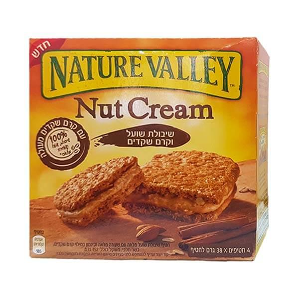 Nature Valley - Nut Cream -  שיבולת שועל וקרם שקדים