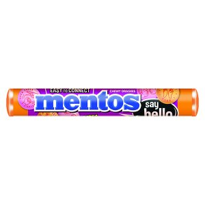 Mentos - Say Hello Strawberry and Orange Flavored