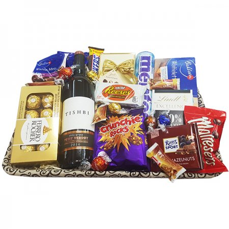 Gift Baskets - Medium with Wine