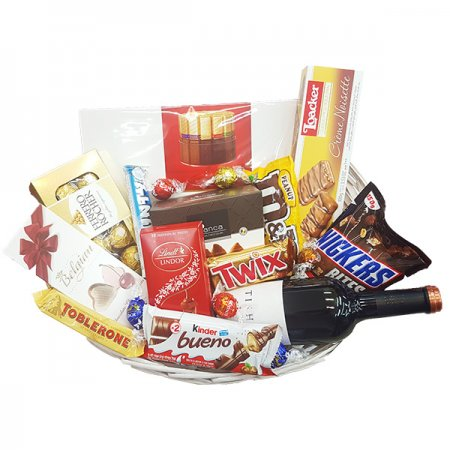 Gift Baskets - Large with Wine