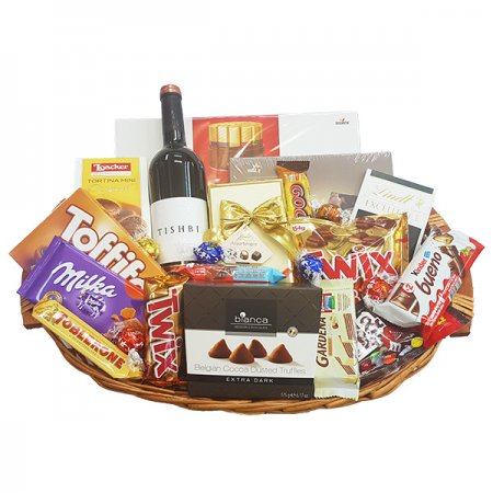 Gift Baskets - Extra Large with Wine