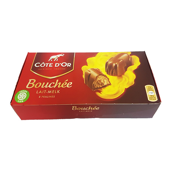 Cote D Or Bouchee Filled Milk Chocolate Chocolate