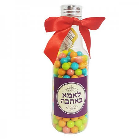 Beer Bottle with Candy - With Love to Mom
