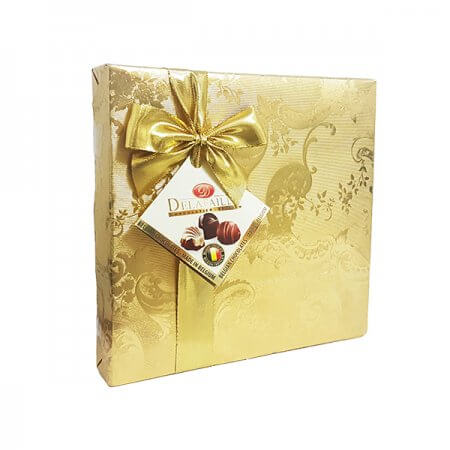 פרליני שוקולד בלגי ממולאים