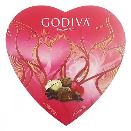 בונבוניירה לב - שוקולד גודייבה