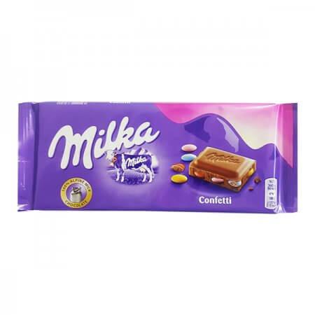 מילקה - שוקולד חלב עם עדשים 2 ב-10