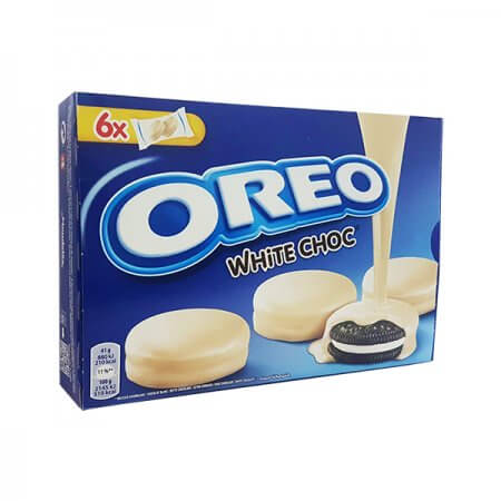 White Chocolate Coated Oreos