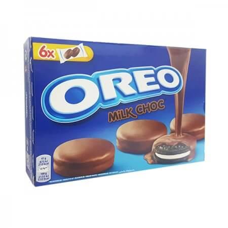 עוגיות אוראו בציפוי שוקולד חלב