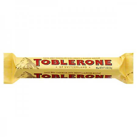 Toblerone - Mini - Milk with Honey & Almond Nougat 3 for 10